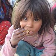 Индия. Бездомные дети