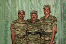 Подбитые над Коломбо пилоты ТОТИ с лидером группировки Прабхакараном