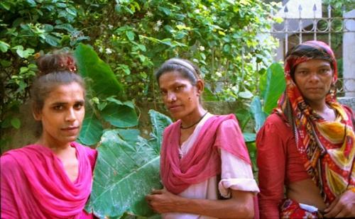Хиджры на улице южного Дели.