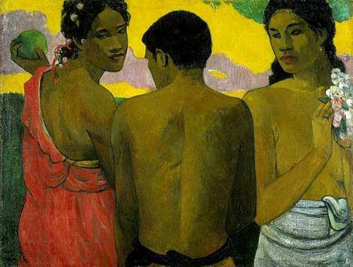 Поль Гоген был очарован таитянской культурой. Отчасти, именно потому, что в таитянских женщинах он находил нечто мужское, а в мужчинах — женское