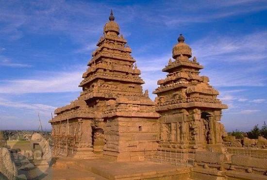 Храм на побережье в г. Махабалипурам
