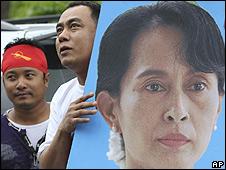 Аун Сан Су Чи с 1990 года почти все время под домашним арестом