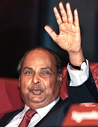 Дхирубхай Амбани - основатель Reliance Industries