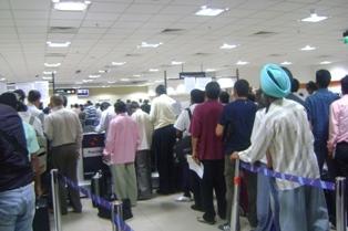 аэропорт New Delhi