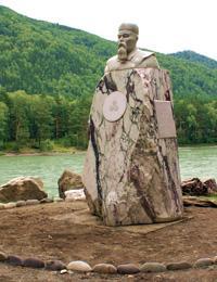 Памятник Н.К. Рериха.