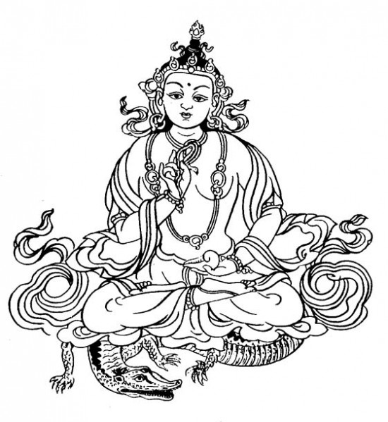 Индуистский бог Варуна
