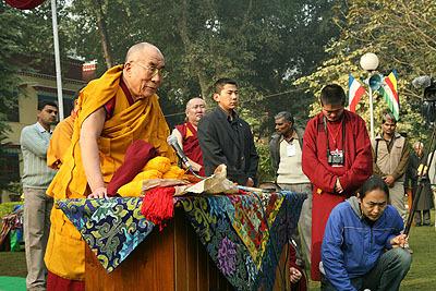 Учения Далай Ламы 14 в январе 2009