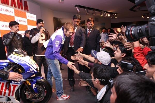 На выставке Auto Expo в Нью-Дели.