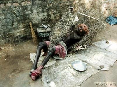 Больной в Индии