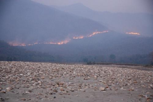 пожары в Непале