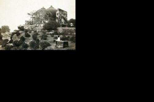 Айодхья: Мечеть Бабри (фото 19в.)