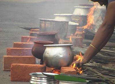 приготовление Понгалы