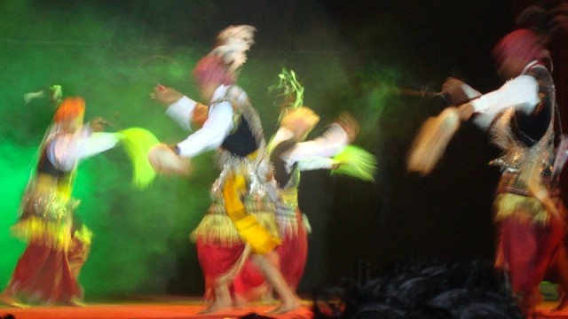 танец воинов кхаси