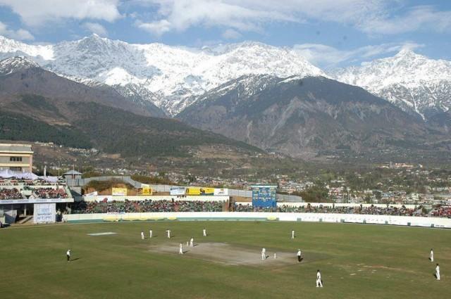 Стадион в нижней Дхарамсале