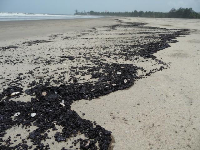 Пляж Морджима май 2010