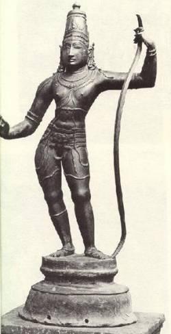 Бог Рама, древняя статуя