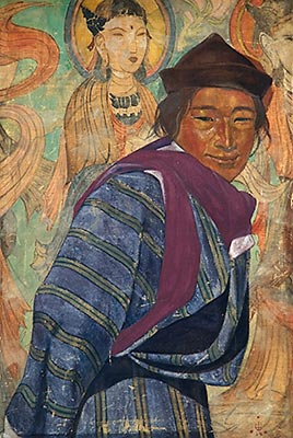Картина С.Рериха из музея