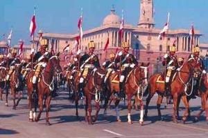 Парад в Дели в честь Дня Республики