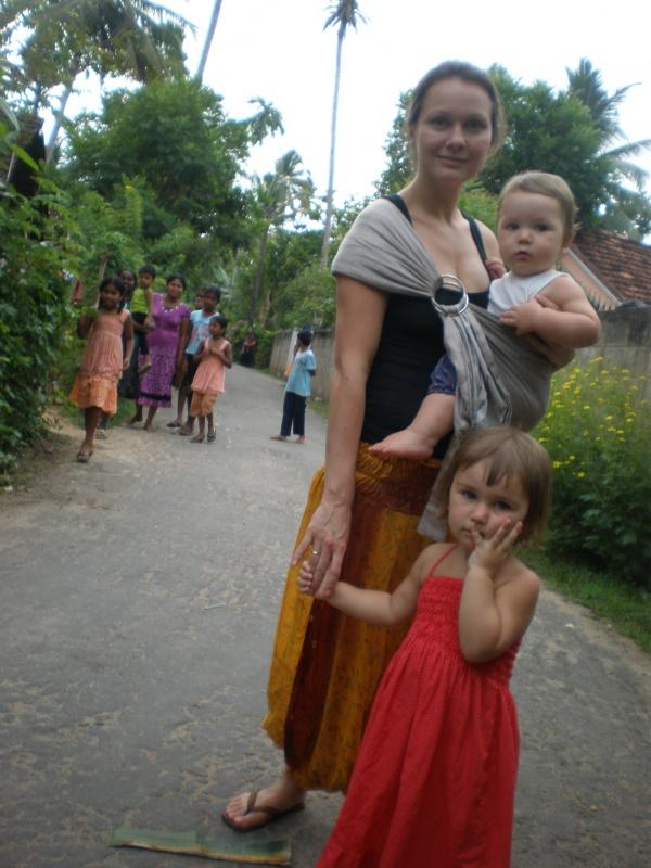 С детишками