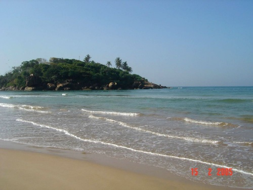 Eden Resort and SPA. Вот такой пляж