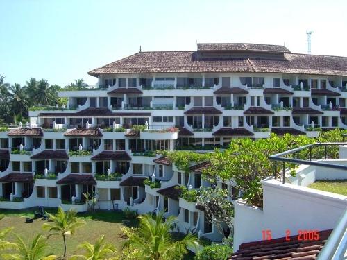 Taj Exotica. Корпус отеля
